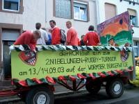Backfischfestumzug 2003