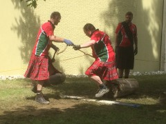 Highland Games in Sohren